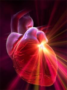 hart met licht